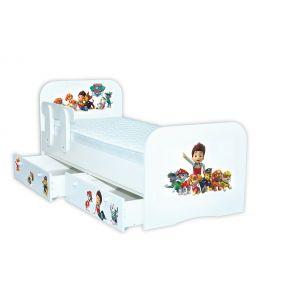 Детская кровать Щенячий патруль 80*190 см (Мебелькон)