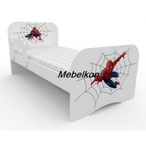 Детская кровать Спайдермен 80*190 см (Мебелькон)