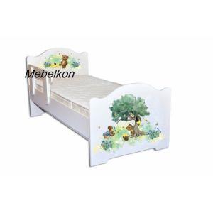 Детская кровать Мишки с медом 80*190 см (Мебелькон)