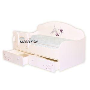 Детская кровать-диванчик Париж 80*160 см (Мебелькон)