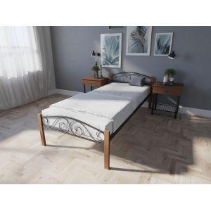 Полуторная кровать Элис Люкс Вуд 120*190-200 см