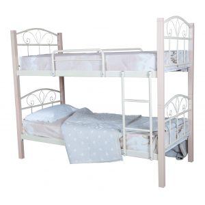 Детские двухъярусные кровати из металла