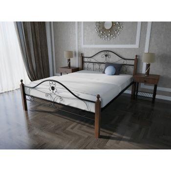 Двуспальная кровать Патриция Вуд 180*190-200 см
