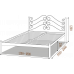 Полуторная кровать Адель 140*190-200 см