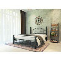 Двуспальная кровать Анжелика на деревянных ногах 160*190-200 см