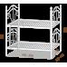 Двухъярусная кровать Диана на деревянных ногах 90*190-200 см