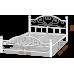 Двуспальная кровать Джоконда на деревянных ногах 160*190-200 см