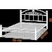 Двуспальная кровать Кассандра на деревянных ногах 180*190-200 см