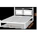 Полуторная кровать Николь 120*190-200 см
