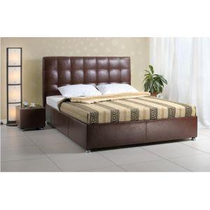 Полуторная кровать Лугано 2 с матрасом 140*200 см