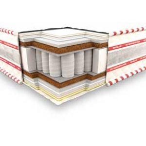 Двуспальный матрас 3D Кинг 180*190-200 см