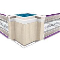 Полуторный матрас Neoflex COMFOGEL Soft 120*190-200 см