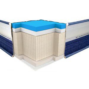 Полуторный матрас ViscoGel Dual Comfort 120*190-200 см