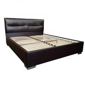 Полутораспальные кровати в обивке