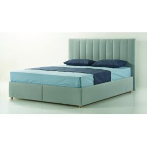 Двуспальная кровать Stripe (Страйп) с матрасом 160*200 см