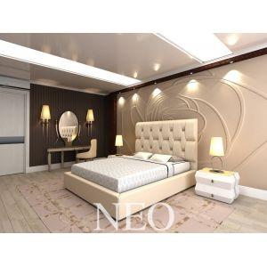 Двуспальная кровать Neo (Нео) с подъемным механизмом 160*190-200 см