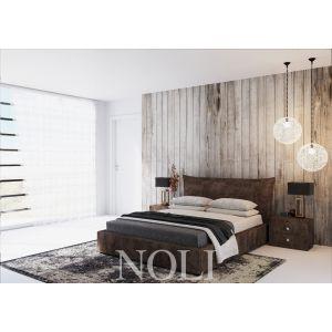 Кровать Noli (Ноли) с подъемным механизмом 160*200 см велюр Donna 07 (РАСПРОДАЖА)