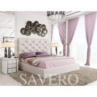 Полуторная кровать Savero (Саверо) с подъемным механизмом 140*190-200 см