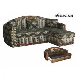 Угловой диван-кровать Аполлон