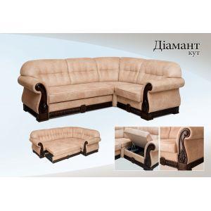 Угловой диван-кровать Диамант