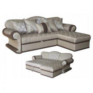 Угловой диван-кровать Лейла
