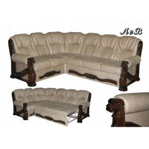 Угловой диван-кровать Лев