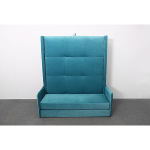 Двуспальная кровать-диван трансформер Кватро с подъемным механизмом 160*200