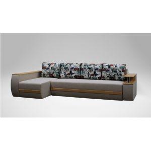 Угловой диван-кровать Элвис удлиненный