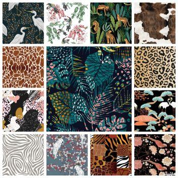 Печатный велюр Natura Collection (Натура)