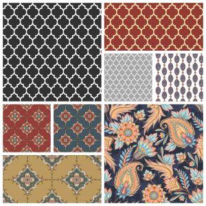 Печатный велюр Orient Collection (Ориэнт)