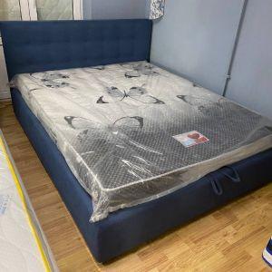 Кровать Гера с подъемным механизмом 160*200 см Pecos 14 (РАСПРОДАЖА с выставки)