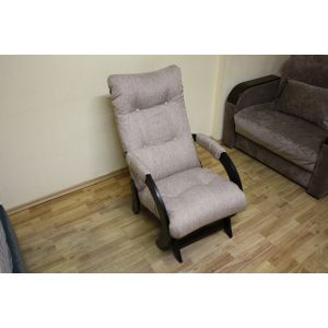 Кресло-глайдер Модель № 1.3 Гауди beige т.орех (РАСПРОДАЖА с выставки)