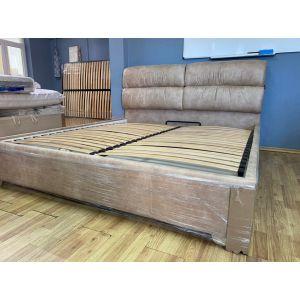 Кровать Манчестер с подъемным механизмом 180*200 см London Caramel (РАСПРОДАЖА с выставки)