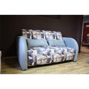 Диван-кровать Max (Макс), 140х200 см Snow Brown/Sofia Grey (РАСПРОДАЖА С ВЫСТАВКИ)