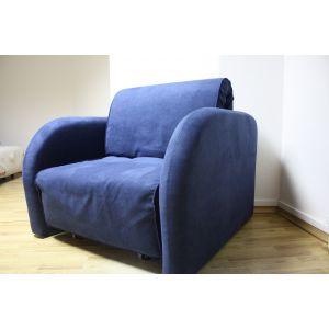 Кресло-кровать Max (Макс) 80*200 см Liberty Indigo (РАСПРОДАЖА с выставки)