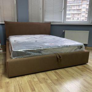 Кровать Noli (Ноли) с подъемным механизмом 160*200 см велюр Donna 07 (РАСПРОДАЖА c выставки)