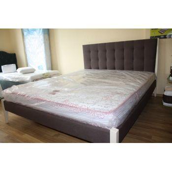 Кровать Токио без подъемного механизма (ЧДК) 160*200 см Etna 23 (РАСПРОДАЖА с выставки)