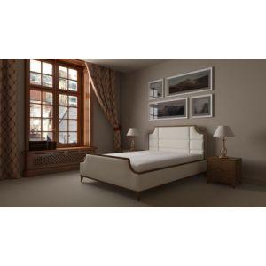 Двуспальная кровать без подъемного механизма Milton (Милтон) 160*190-200 см